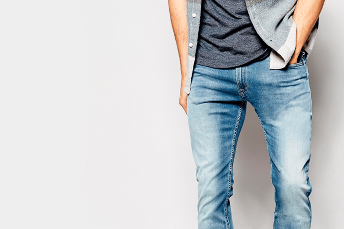 Discover men's jeans